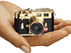 豪華なゴールドバージョン:駒村商会、「ライカM3」のミニチュアデジカメを発売
