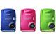 富士フイルム、コンパクトな防水デジカメ「FinePix Z33WP」発売