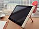 iPad 2/iPod touch用:Cut & Paste、ホーン型のデザインのユニークなスピーカー&スタンド