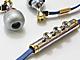トランペットを模した遊び心あふれるイヤフォン、モンスター「Miles Davis Trumpet」