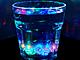 水を入れると5色に光るグラス