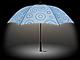 暗い道も安心、ライト付き傘「bright night」をセンチュリーが発売