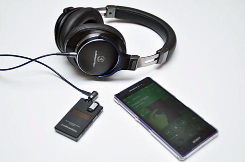 ガンメタリック AT-PHA50BT GM ワイヤレスヘッドホンアンプ audio-technica