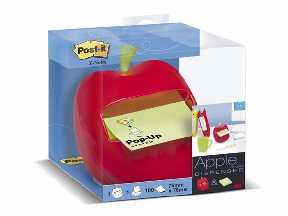 りんご型付箋入れ