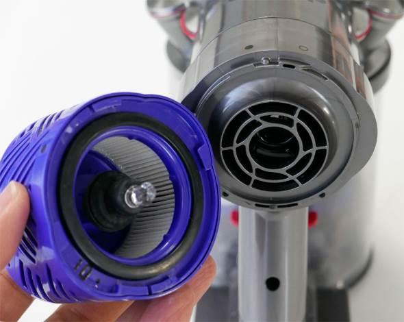 V6 Fluffy ポストモーターフィルター
