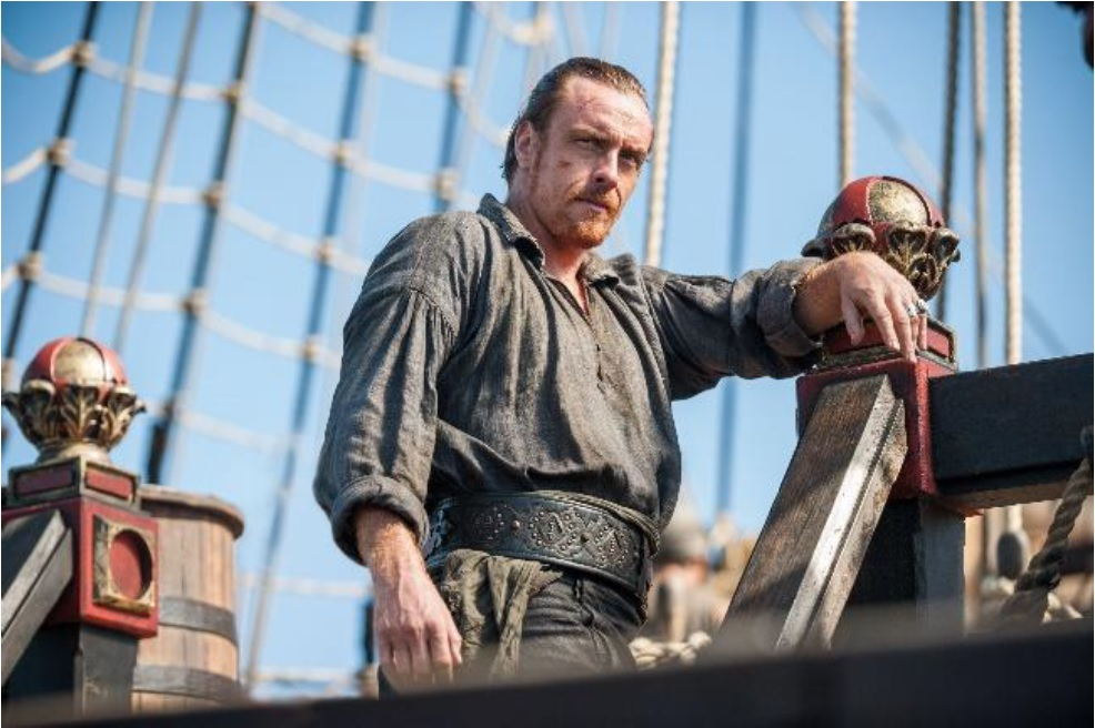 「Black Sails/ブラック・セイルズ」©2015 Starz Entertainment,LLC. All Rights Reserved.