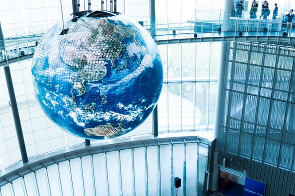 「今の地球」を眺めることができるジオ・コスモス