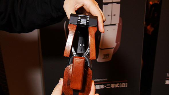 「THP-01」の鹿革モデル