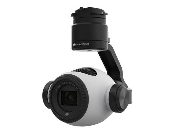 ドローンに搭載可能なズームカメラ「Zenmuse Z3」