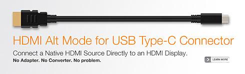USB Type CからHDMI信号を出力できる「オルトモード」正式発表