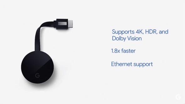 Chromecast Ultraの主な特徴