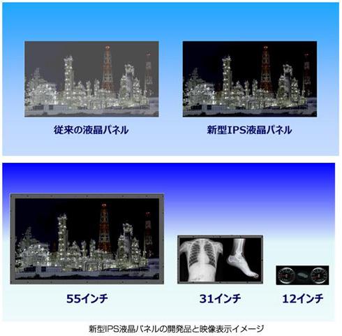 コントラスト比100万:1以上の新型IPS液晶パネル、パナソニックが開発 ...