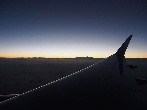 初日の出フライト