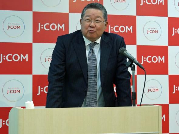 J:COMの井村公彦社長