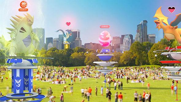 Pokemon GO Update 1