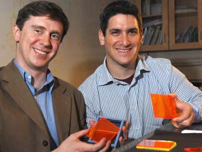 organic solar concentrators