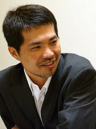 NTTデータの大熊喜之氏