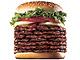 パテ7枚、カロリー2120kcal!:Windows 7発売記念バーガーを食べてみた