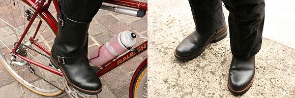 自転車通勤 自転車通勤 防寒 靴 : ... 自転車通勤(最終回) (3/6