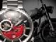 1950年代のイタリアンバイクに思いを馳せる機械式腕時計——オリエント時計