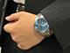 OCEANUSの青はビジネススーツに映える青だ
