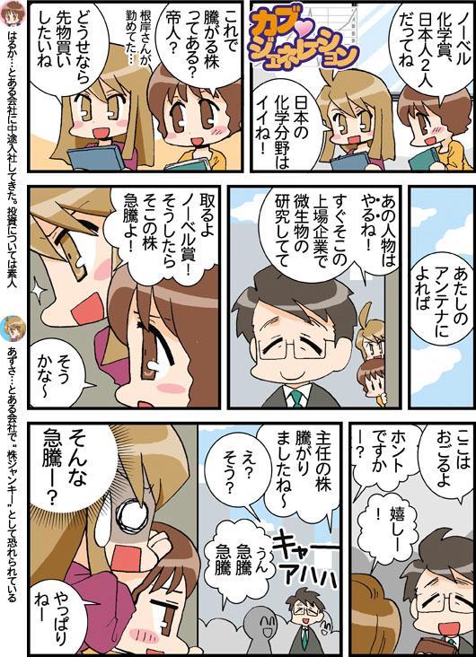 化学 人 日本 ノーベル 賞