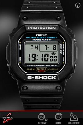 G-SHOCK App