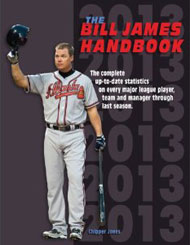 The Bill James Handbook 2013
