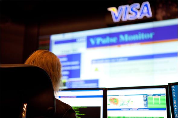 VISAのデータセンター