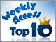 �� Weekly Access Top10�i2014�N3��24��`3��30��j�F�o�[�K�[�L���O�͖{���ɋƊE��5�ʂȂ̂�