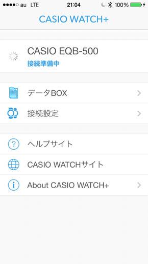 CASIO WATCH+