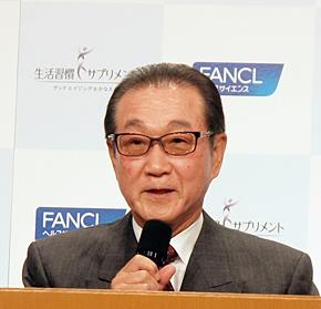 ファンケルの池森賢二会長兼グループCEO