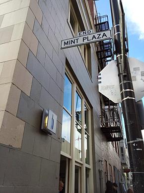 サンフランシスコ市内にある「Mint Plaza Cafe」