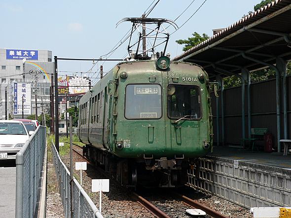熊本電鉄の青ガエルこと「5000系電車」