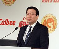 カルビー 伊藤秀二社長兼COO