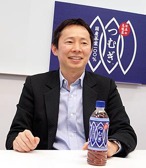 日本コカ・コーラ マーケティング本部 ティーカテゴリーの福江晋二バイスプレジデント