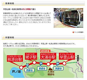 箱根ロープウェイは18人乗りゴンドラが1分間隔で運行する(出典:箱根ロープウェイ公式サイト)
