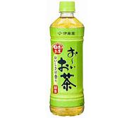 主力製品の「お〜いお茶 緑茶」