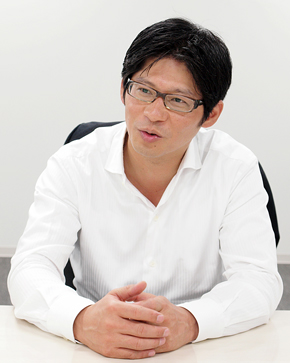 大塚倉庫 執行役員 ロジスティックス本部長 兼 営業本部 国際物流部長の西牟田克之氏