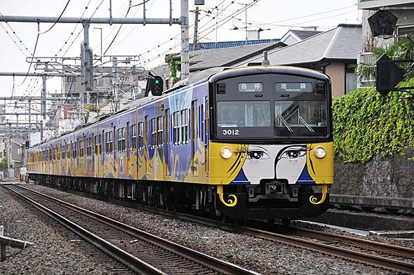 2014年12月に引退した3000系「銀河鉄道999」