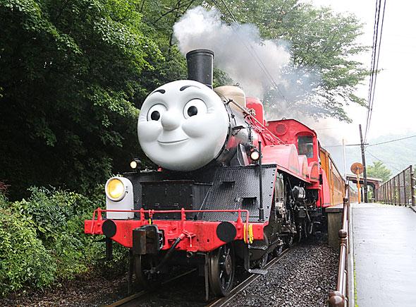 大井川鐵道で走り始めたジェームス