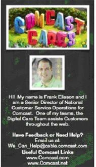 ComcastのTwitterカスタマーサービスチーム
