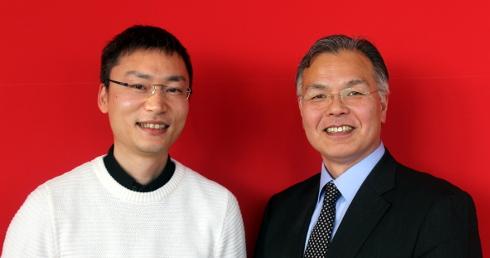 佐久間 衝氏と庭山一郎氏