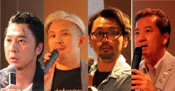 山本さん、布施さん、石戸さん、平野さん