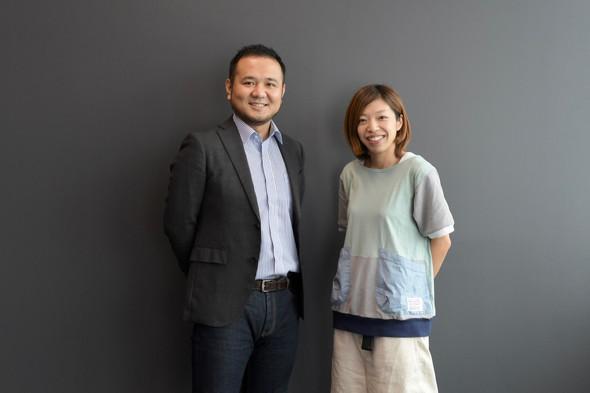 永淵恭子氏と筆者