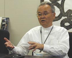キャッツ代表取締役社長兼COO 上島康男氏