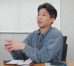 イーソル エンベデッドプロダクツ事業部 取締役 事業部長 上山伸幸氏