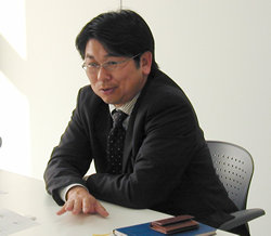 豊通エレクトロニクス 取締役 柿原安博氏