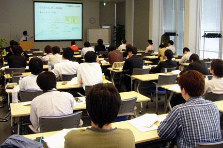 参加者向け技術研修会の模様(モデリング基礎教育)