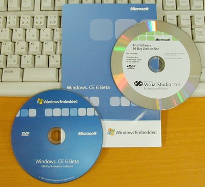 MEDCで配布されたWindows CE 6のベータ版